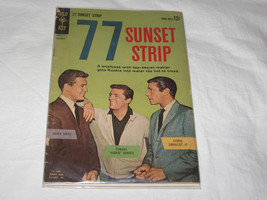 vintage 1962 gold key number 1 77 sunset strip comic book - $150.00