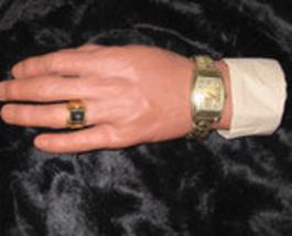 vintage 1950s lord elgin 14 kt. g.f. mens wrist... - $600.00