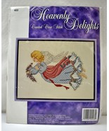 Sugarplum Express Heavenly Delights Angel #403 Counted Cross Stitch Kit ... - $7.55