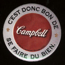 1998 French Campbell Campbell's Soup Button Pin... - $14.99