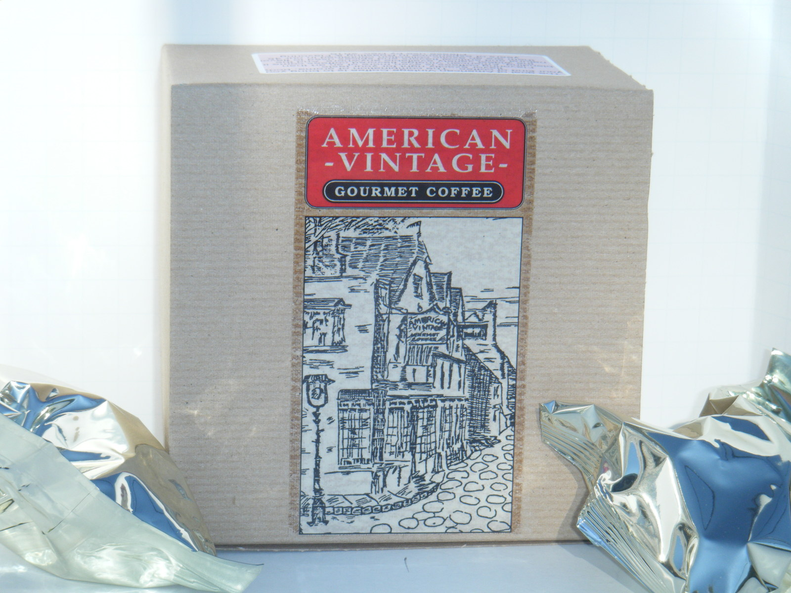 American Vintage Flavored Double Nut Fudge 10 Medium Bold K-Cups Free Shipping