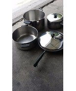 Lot Revere Ware Pots and Pans three have Copper Bottom 6 pieces - $79.00