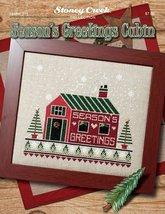 Season's Greeting Cabin L315 christmas cross stitch chart Stoney Creek - $7.20