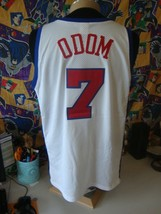 Vintage NBA Los Angeles Clippers Lamar Odom Champion Authentic Jersey XL  - $98.99