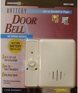Portable Doorbell (Wireless) battery power - $19.99