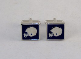 Novelty Cufflinks ~ Sport Theme, Football Helmet ~ Mens Fashion Jewelry #5350250 - $9.75