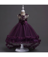 Purple Flower Girls dress Evening Party Pageant Dresses for Girls in 4 ... - $59.99+