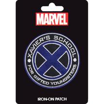 Official Star Marvel Universe Comics X-Men Xavier's School Logo Iron On ... - $5.95