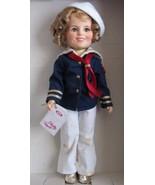 "IDEAL Shirley Temple CAPTAIN JANUARY Doll 12"" Tall (1982) - $49.48"