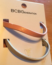 BCBGeneration Roseg Mini Strap Combo Bracelets - New - $5.93
