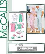 McCall's 9123 Uniform Essentials SCRUBS Unisex Pattern - S-M-L - $6.98