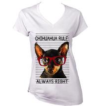 Chihuahua Black 1  Always Right    New Graphic T Shirt   S M L Xl Xxl - $25.26