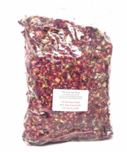 1 Lb Dried Red Rose Petals Buds Soap Sachets Potpourri Bulk Wholesale Food Grade - $15.95
