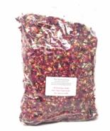 1 lb DRIED RED ROSE PETALS Buds Soap Sachets Potpourri Bulk Wholesale FO... - $15.95