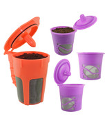 Eurig 2.0 k cups refillable k carafe reusable k cup for keurig 2.0 carafe brewer combo thumbtall