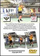 """CARDIO SELF DEFENSE WORKOUT at 40 years & up, Learn Punching & Kicking ... - $13.33"