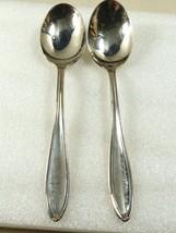 Oneida Community Par Plate Dominion Chester Puritan silver plate 2 soup ... - $19.80