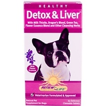 ReNew Life Healthy Detox & Liver for(Dogs)  60 Chewable Tablets MSRP $24.9 - $19.90