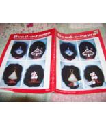 Bead-o-rama Beaded Christmas Ornament Pattern Instruction Booklet Vol. 1 - $18.00