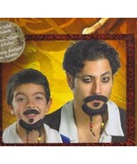 PIRATES OF THE CARIBBEAN MUSTACHE & GOATEE SET  - $7.00