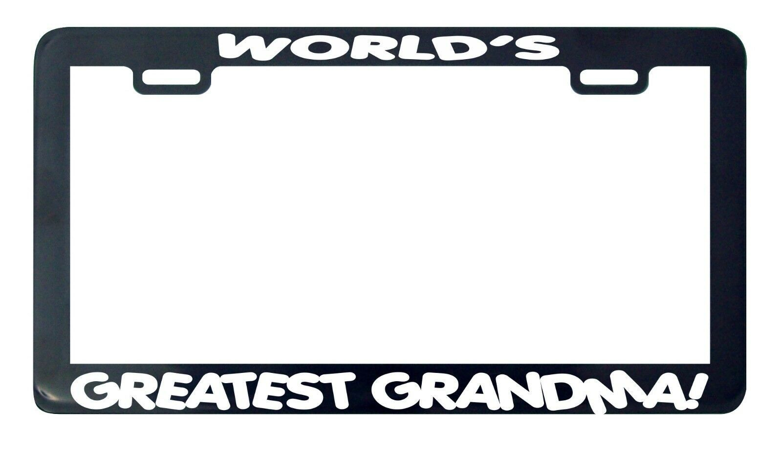Primary image for World's Greatest Grandma license plate frame holder tag