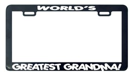 World's Greatest Grandma license plate frame holder tag - $5.99