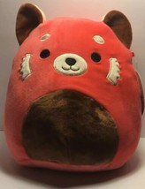 "Squishmallow 8"" Red Panda NEW Limited Edition Soft Plush Toy Pillow by K... - $9.49"