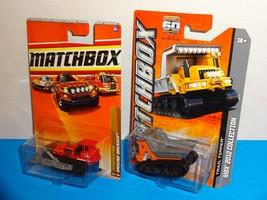 Matchbox Lot of 2 Vehicles Ground Breaker Bulldozer & Trail Tipper - $2.50