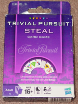 TRIVIAL PURSUIT STEAL CARD GAME PARKER BROTHERS 2009 NEW UNUSED UNOPENED - $10.00