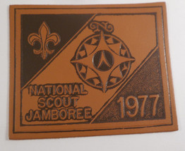 1977 National Jamboree Leather Large Patch EXCELLENT CONDITION - $5.94