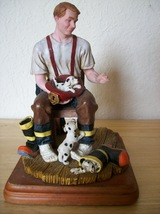 Red Hats of Courage A Welcome Home Figurine by Vanmark  - $45.00