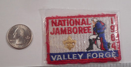 1964 National Boy Scout Jamboree VALLEY FORGEWoven Silk Pocket Patch  MINT! - $9.99
