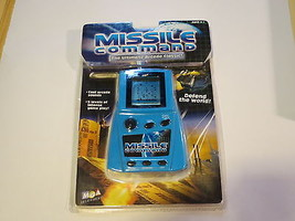 Missile Command Handheld Atari Arcade Lcd Game New Sealed Mga Rare Toy Classic - $28.04