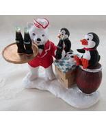 Coca Cola Collectible Resin Figurine, Polar Bea... - $25.00