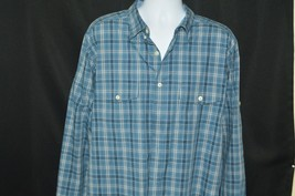 MEN'S LONG SLEEVE WOOLRICH SHIRT SIZE XL - $17.82