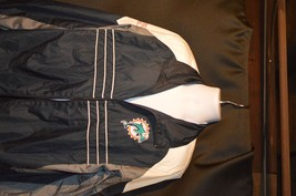 "MEN'S NFL WINDBREAKER ""MIAMI DOLPHINS"" LOGO ON FRONT SIZE XL - $21.38"