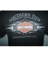Harley-Davidson Black T-Shirt Large Binghamton, NY - $20.00