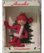 Annalee Red Elf Doll Felt Christmas Ornament - $12.99