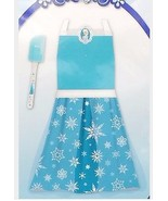 Disney Frozen Princess Elsa Blue Apron Dress Up Play Set with Spatula 2p... - $21.99