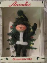Annalee Green  Elf Felt Doll Christmas Ornament - $10.39