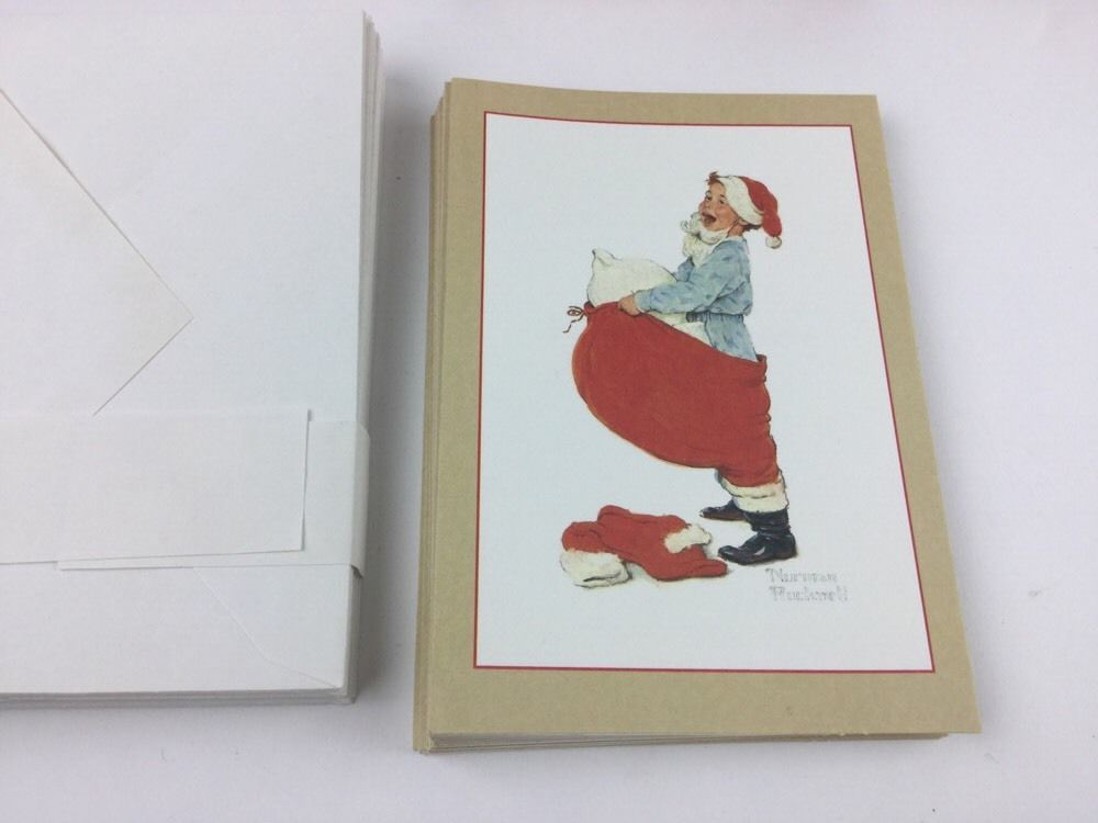 Christmas cards By Norman Rockwell. Hallmark and 43 similar items