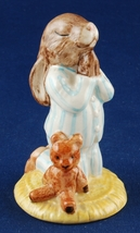 Royal Doulton Bedtime Bunnykins DB55 Beatrix Pottter 1986 89 Signed Alice - $18.00