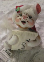Annalee Felt Christmas Kitten Doll With Catnip Bag Ornament Decoration - $15.99