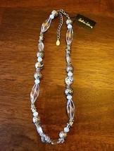 "Cookie Lee Faceted Glass Necklace ""New With Tags""Jewelry-Fashion-Vintage... - $9.95"