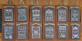 Clearance Full Bundle Year In Chalk 12 Charts Total Cross Stitch Hands On Design - $42.00