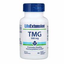 Life Extension TMG 500 mg, 60 Liquid Vegetarian Capsules - $17.99