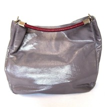 5b7a7459d1 L-2810271 New Yves Saint Laurent Gray With Red Handle Tote Bag - £266.67
