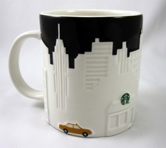 Starbucks Coffee New York City Embossed Relief Mug Cup Collectors Series... - $39.99