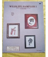 Wildlife Sampler I Cross Stitch Patterns Zebra ... - $5.00