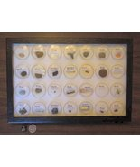 Museum Display Case, Collection of 28 Exotic Ar... - $249.00